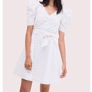 Kate Spade Cotton Dot Dress XXS